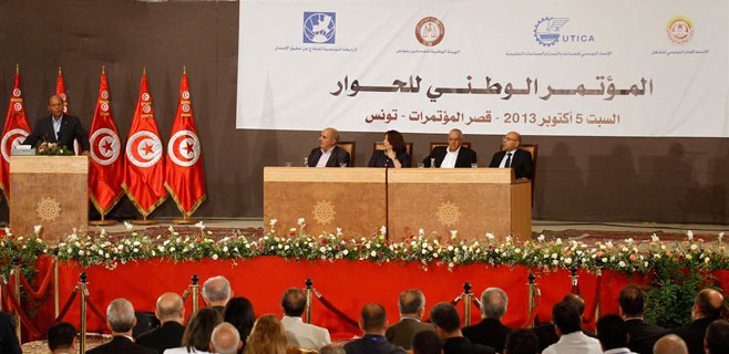 Nobel de la Paz para el Cuarteto de Diálogo Nacional en Túnez