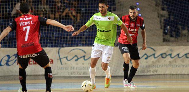 El Palma Futsal cede sus primeros puntos ante el Zaragoza