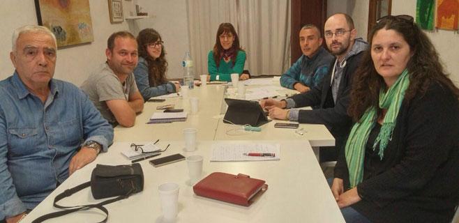 Las secretarías de Podem planifican las líneas conjuntas para las generales