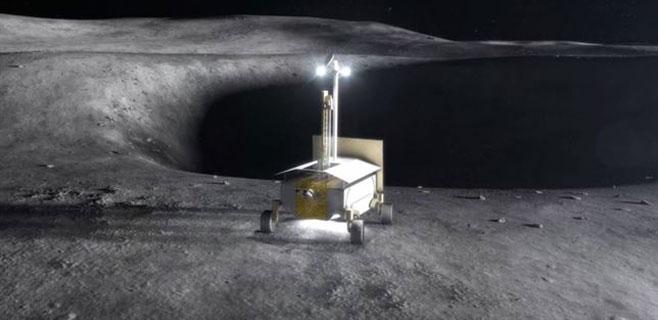 250 millones de dólares para extraer hielo de la Luna