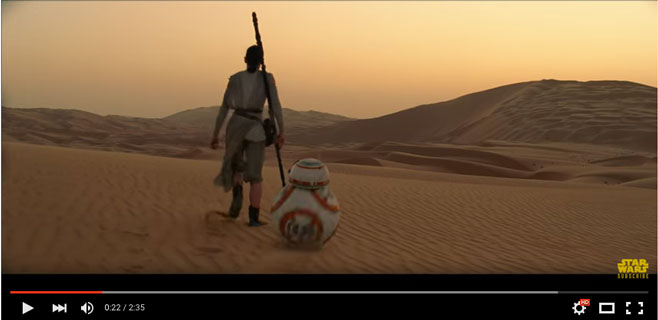 Aterriza el tráiler final de Star Wars VII: El despertar de la fuerza