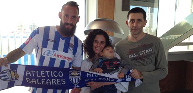 El Atlètic Balears también se vuelca con Lucas