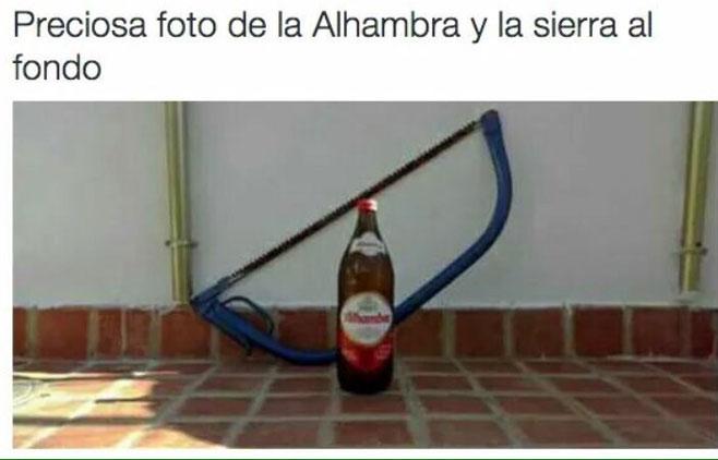 Alhambra: ¿cerveza o monumento?