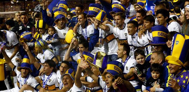 Boca Juniors, campeón de Argentina