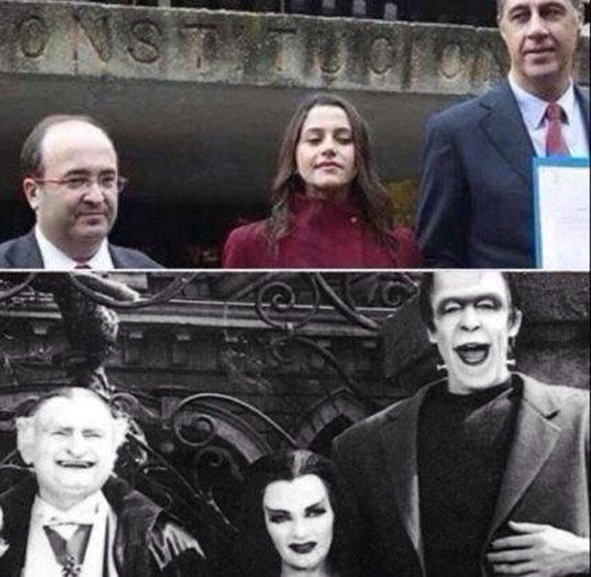La familia Addams en el Constitucional