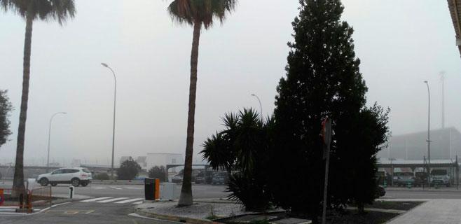 Retrasos en el aeropuerto por la niebla