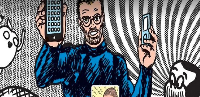 Steve Jobs protagoniza un cómic que explica los términos de iTunes