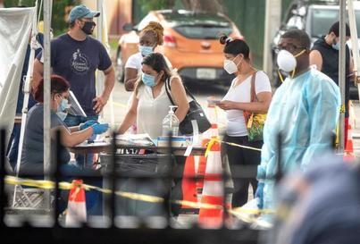 EE.UU. se acerca a las 190.000 muertes y los 6,3 millones de casos de COVID-19