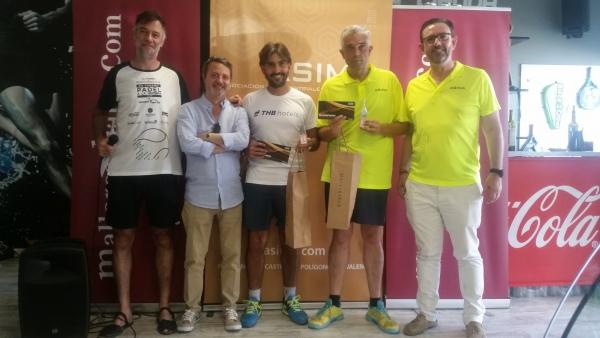 Ismael Arévalo y Pau Vidal, de THB Hotels, ganadores la VI Edición de la ASIMA Business Cup