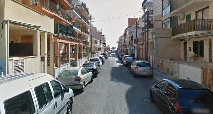 Imagen de la calle en la que ocurrieron los hechos