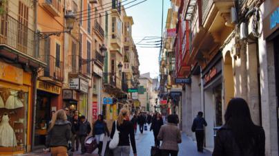 Misión: gastar 1.000 euros en tres horas en tiendas de Via Sindicat de Palma
