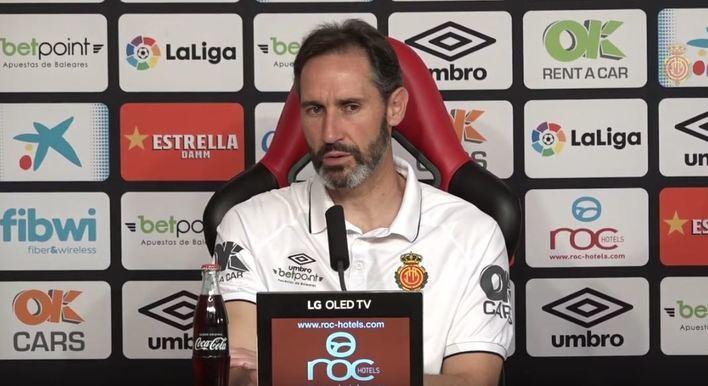 """Vicente Moreno: """"Sería una pasada jugar una final por el ascenso"""""""
