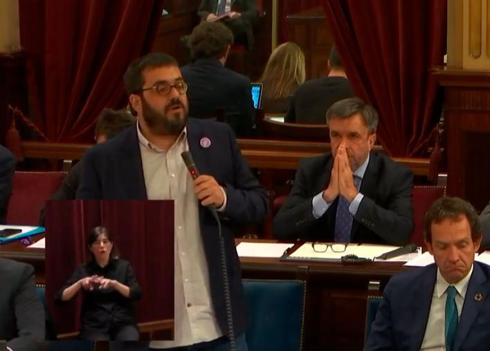 Vidal (PP) a Vidal (Més): 'Usted defiende a los peces mientras los pescadores están cada vez peor'