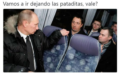 Que llamo a Putin