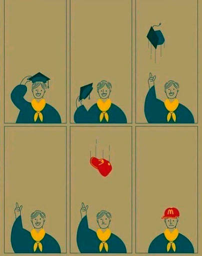 La triste realidad