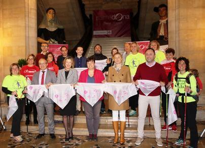 Cort organiza este domingo la IV Marcha por la Igualdad - Nordic Walking Ciutat de Palma