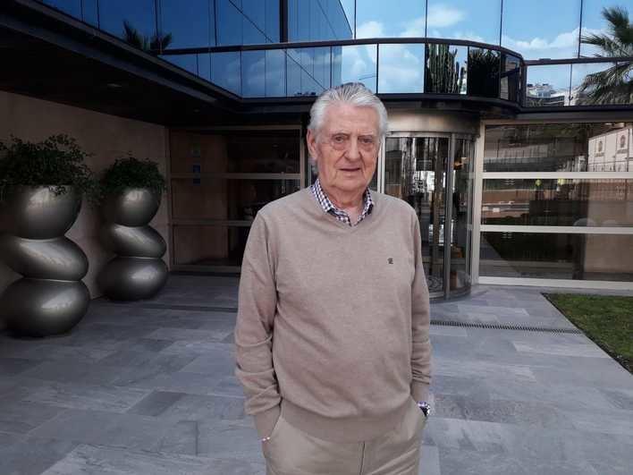 Francisco Marín, expresidente de la Asociación Hotelera de Playa de Palma