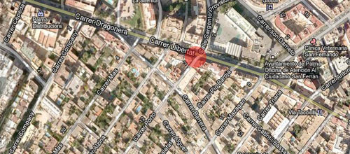 noticias mallorca <center>Sofocado el incendio de un piso en Son Espanyolet</center>