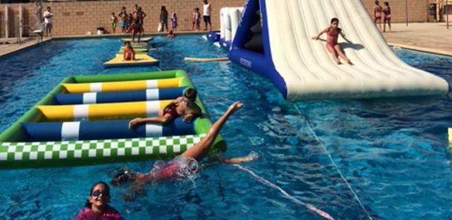 Gran fiesta para la clausura de la temporada de piscinas for Piscinas municipales palma