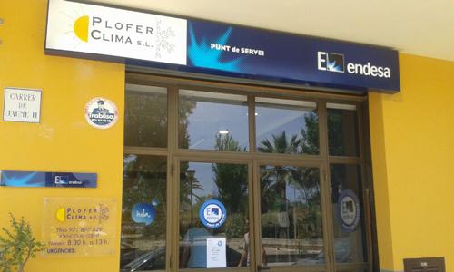 Endesa pone en marcha un punto de servicio en alc dia for Endesa ibiza oficina